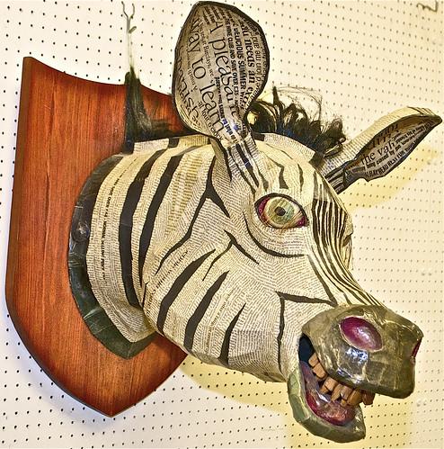Zebra Head by David Farrer