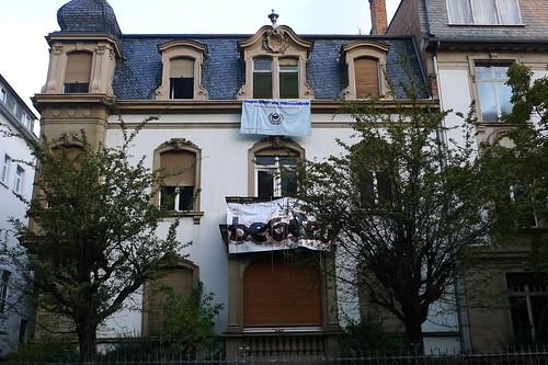 Besetztes Haus im Westend. Oktober 2011
