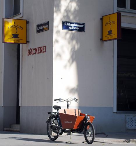 Bakfiets in Vienna
