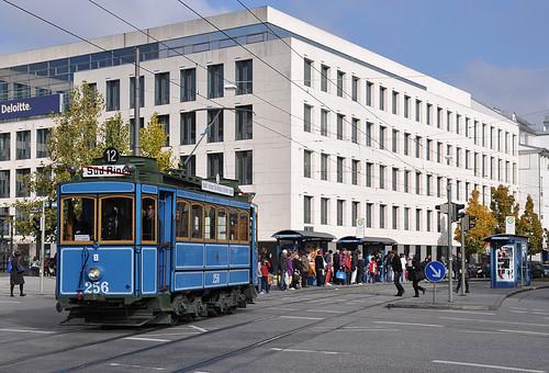 A-Wagen 256 am Rosenheimer Platz.