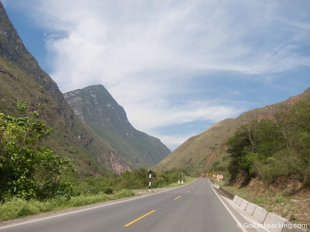 On the road from Bagua Grande to Chachapoyas