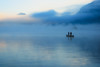A quiet moment (Thierry Hennet) Tags: morning blue autumn people mist lake seascape fall water fog zeiss sunrise outdoors dawn switzerland boat fishing ship suisse sony tranquility clearsky vierwaldstaettersee a900 coldtemperature cz2470mmf28