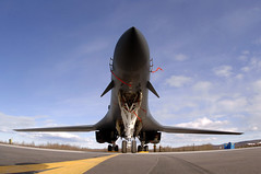 B-1 Bomber (KurtClark) Tags: usa alaska us video force photos air jet international rockwell bomber airpower b1 publicdomain eielsonairforcebase
