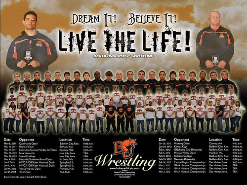 Live the Life - Baker Wrestling