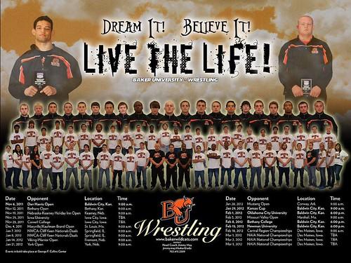 Live the Life - Baker Wrestling