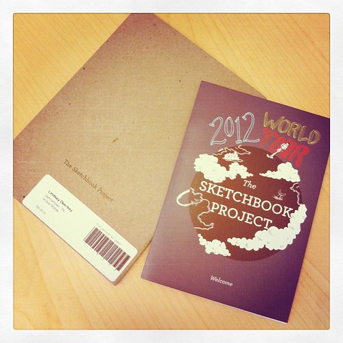 I signed up for the sketchbook project 2012 :)