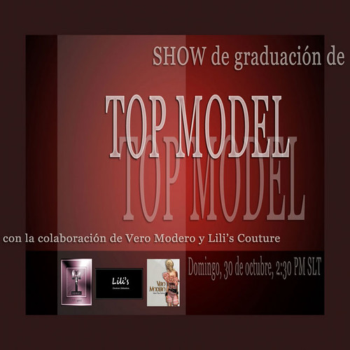 ANUNCIO SHOW 2ª GRADUACION TOP MODEL 301011 by Cherokeeh Asteria