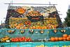 Pumpkins galore (larigan.) Tags: autumn fall gourds vegetables fruit colours village display westsussex pumpkins harvest fair colourful variety marrows wheelbarrow upton fruittrees squashes cucurbita slindon pumpkincapitaloftheworld pumpkinfair larigan phamilton gettyimageswants gettywants welcomeuk