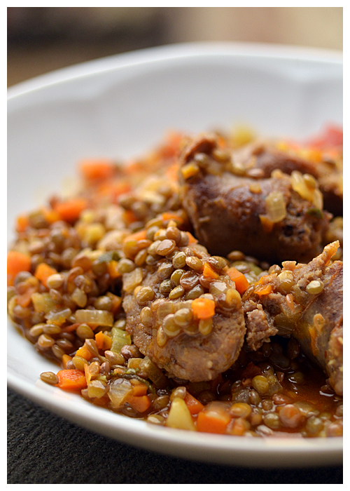 Castelluccio Lentils with Sausage© by Haalo