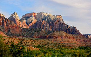 Mountains near Zion Nat'l Park