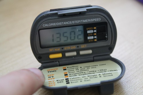 My new pedometer!