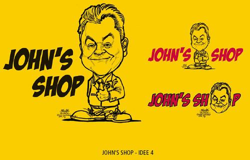 DHL - John Pearson caricature logo
