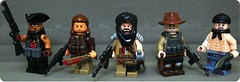 Modern Pirate Raiders ([N]atsty) Tags: modern lego fig prototype pirate figure minifig raiders proto minifigure lcn brickarms