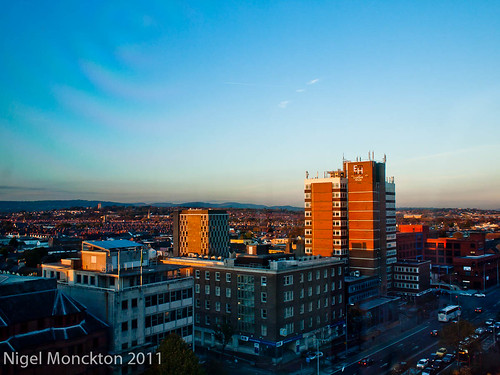 1000/624: 28 Oct 2011: Evening view of Cardiff by nmonckton