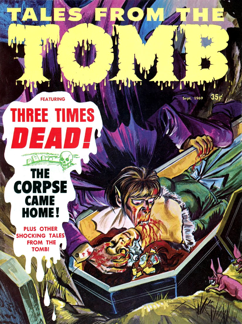 Tales from the Tomb - Vol. 1 #7 (Eerie Publications, 1971)