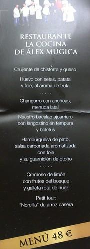 Pamplona | La Cocina de Alex Múgica | Plano