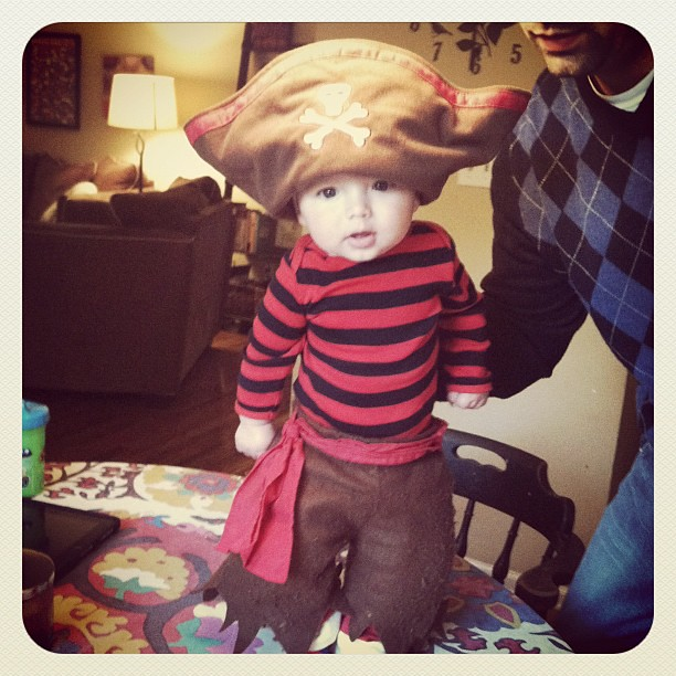 Cutest pirate ;)
