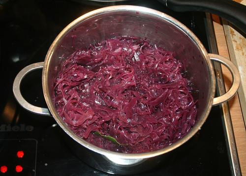29 - Rotkraut kochen