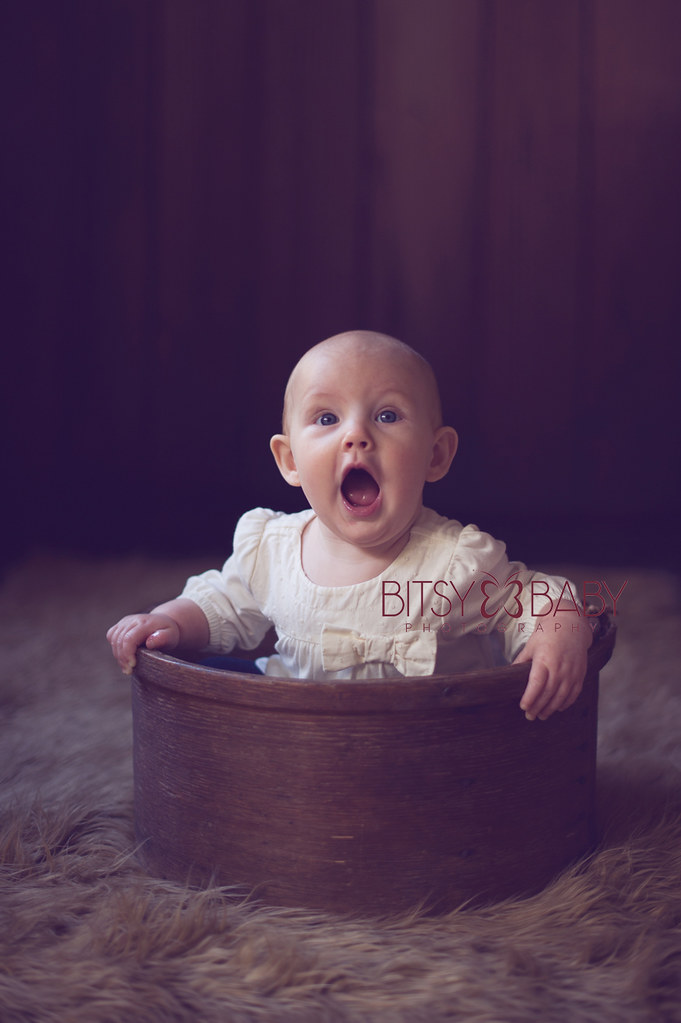 baby photo surprised