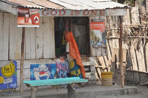Local shop in Kilwa Kivinjie