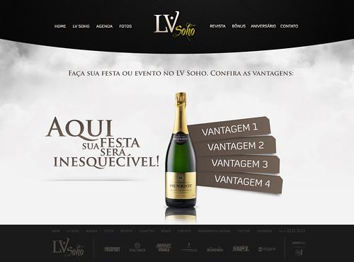 LV Soho - Site (pg. Aniversário) by chambe.com.br