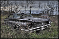Casuality of the Petrol War (RiddimRyder) Tags: ontario abandoned beauty car canon vintage buick rusty gas forgotten rusted petrol hdr ue urbex oilwar ruralexploration rurex 60d riddimryder