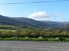 On the way to Glencree