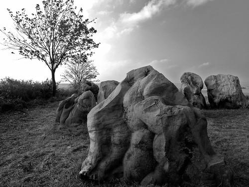 Lübbensteine bei Helmstedt – Stone grave near Helmstedt, Germany by RaSch