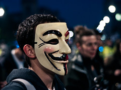 V #2 (Sean Batten) Tags: uk england london protest parliament v vforvendetta anonymous guyfawkesmask