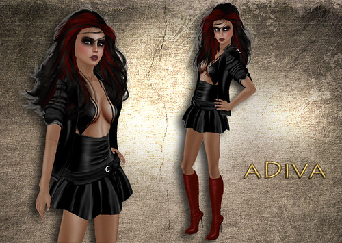 aDiva couture Mila Black