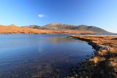 On top of the world (looking east across Loch Tanna) (shotlandka) Tags: nature water canon landscape scotland scenery glen hills loch arran isleofarran catacol lochtanna canoneos500d шотландия mygearandme арран катакол