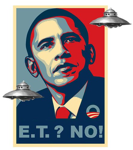 Obama Writes Off Extraterrestrial Vote