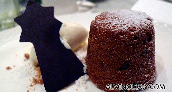 Christmas Pudding - 甜品 ~ 圣诞布丁 香草雪糕