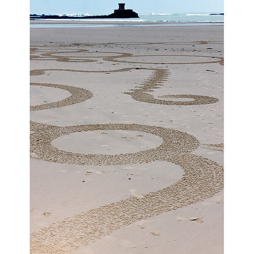 World beach art championships, La Pulente, St Ouen's Bay, Jersey