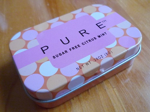 """PURE"" mint tin"