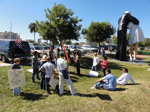 Holding a vote at Occupy Sarasota