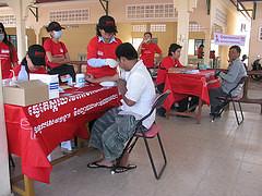 HIV Testing (11/9/11) - Phnom Penh, Cambodia for World AIDS Day
