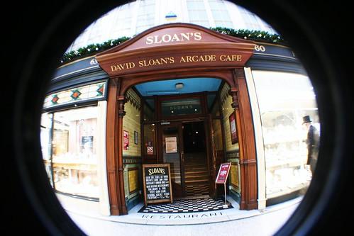 Sloan's Restarant, Argyll Arcade