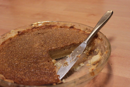 The Chow Review: Brown Sugar Buttermilk Pie