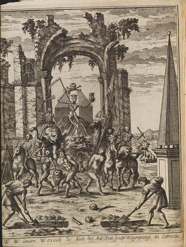 Theatrum Mortis Humanae Tripartitum - Johann Weikhard von Valvasor, 1682 by peacay