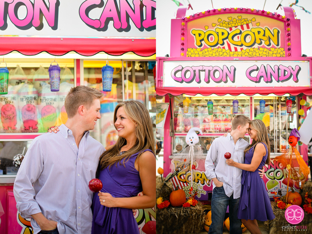 Brandy and Grant | Georgia National Fair Perry Georgia Engagement Photographer