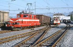 Trains Yverdon - St.-Croix (Suisse)