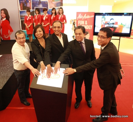 Launch ceremony of Program Travelog Air Asia