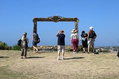 Provenance (a gift frame) (Jane Gillings NSW) (Val in Sydney) Tags: sea sculpture artwork jane australia gift frame nsw 2011 gillings provenance sxsbondi wwwsculpturebytheseacom