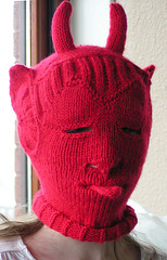 bokaclavajr devil knit mask