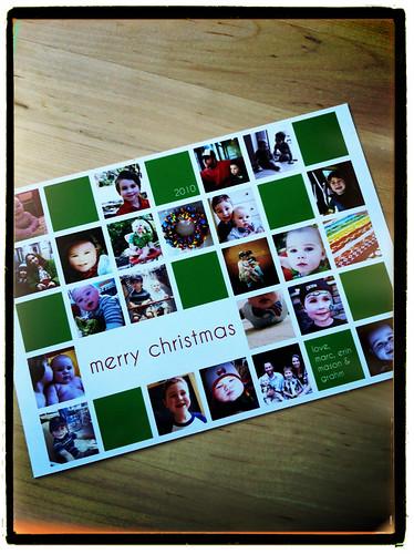 2010 Christmas card