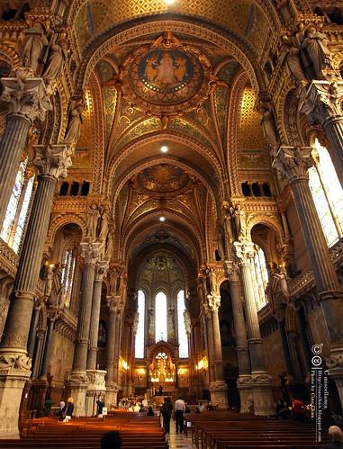 Bonjour Lyon~ 里昂。富維耶聖母教堂 Basilique Notre-Dame de Fourviere R1041796