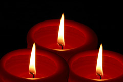 Red Candles (Runemaker) Tags: christmas red collage weihnachten candles candle