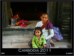Cambodia 2011 (pharoahsax) Tags: world get colors canon children temple asia asien cambodge cambodia kambodscha südostasien child south kinder east kind siemreap angkor tempel 2011 thommanon 40d pmbvw worldgetcolors