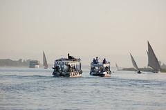 Nil (Lucie Bogdan) Tags: river word boat egypt nil feloucca